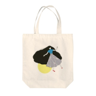 うかぶ Tote bags