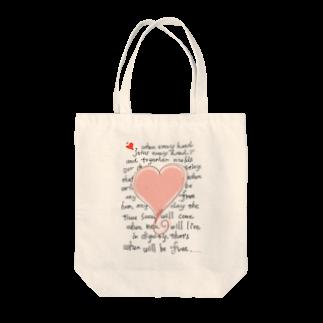 brand-new Somethingのfeel-free-Heart Tote bags