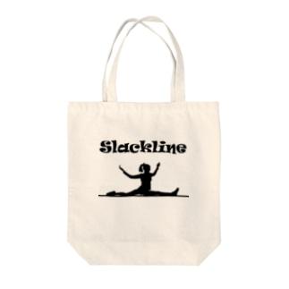 スラックライン(スプレッド) Tote bags