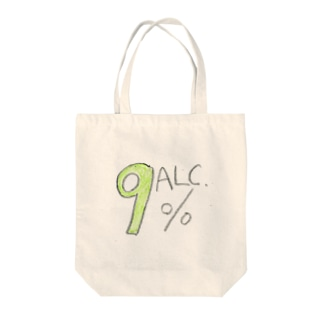アルコール度数 Tote bags