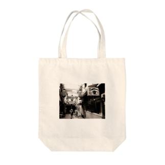 ねじ式的風景(月島) Tote bags