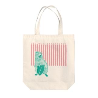 クアッカワラビー Tote bags