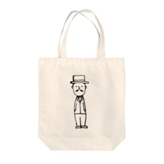 ジェントルマン Tote bags