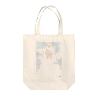 ユニコーンの願い Tote bags