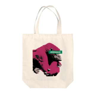 Gorilla thinks Logo (Red) Tote bags