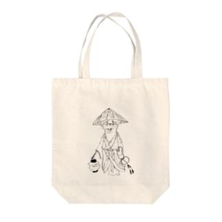 川獺( カワウソ )氏 Tote bags