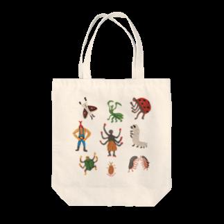 本濃研太の店の虫たち!トートバッグ! Tote bags