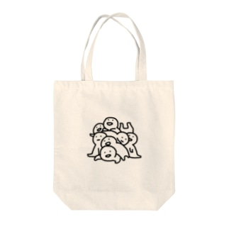 はじめてのお文具さん Tote bags