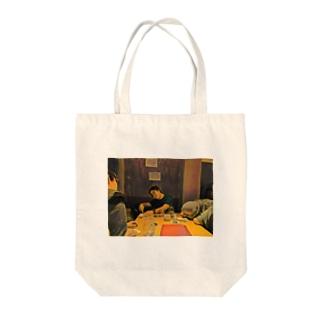 名画「JavaScriptのthisを教えるpastak」 Tote bags