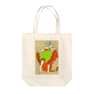 サニーレタス Tote bags