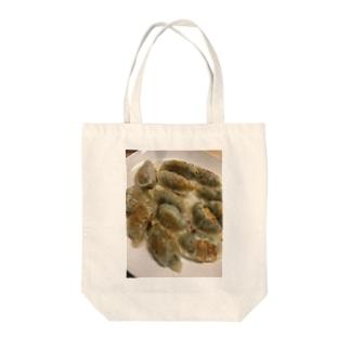 なんて餃子な! Tote bags
