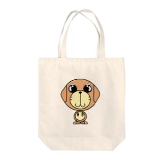 犬のディッキー Tote bags