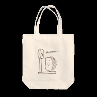 和田ありすの不思議なおみせのハリネズミの体重測定 Tote bags