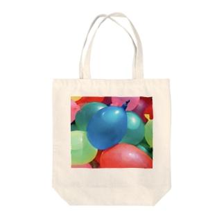 水風船 Tote bags