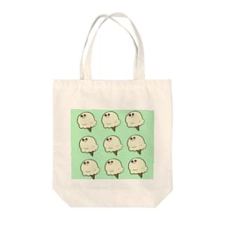 あいすくりいむ Tote bags