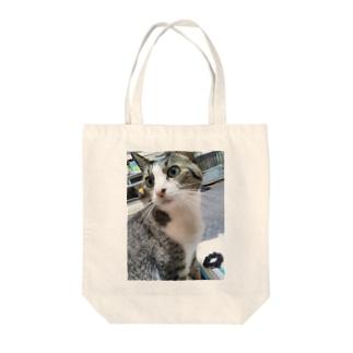 黄昏にゃん Tote bags