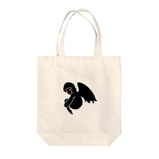 ANGEL(Darkver.) Tote bags