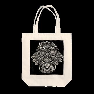 気分屋ReiKaのShop:RK工房のフクロウさん Tote bags