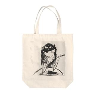 ルカタマカレー Tote bags
