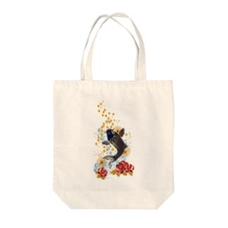 昇り鯉 Tote bags