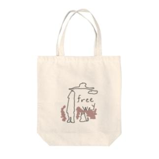 フリー Tote bags