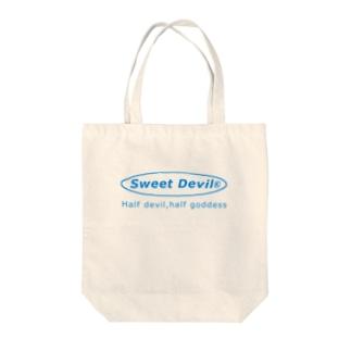 Sweet Devil Tote bags