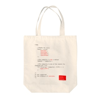 WBKOBE 100th PT01(Black Letter) Tote bags