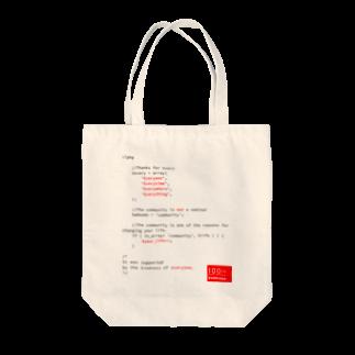 WordBench Kobe 100thのWBKOBE 100th PT01(Black Letter) Tote bags