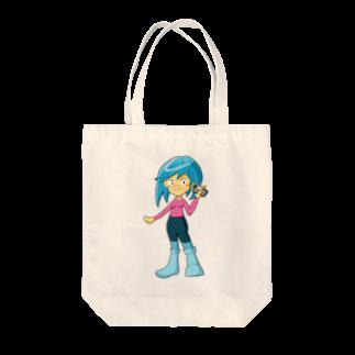 Webアナリストすみれ公式ショップSUZURI支店のみずきちゃんのグッズ Tote bags