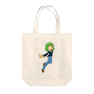 みどりちゃんのグッズ Tote bags