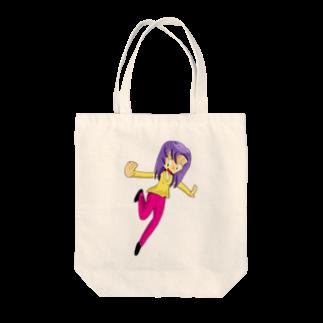 Webアナリストすみれ公式ショップSUZURI支店のふじちゃんのグッズ Tote bags