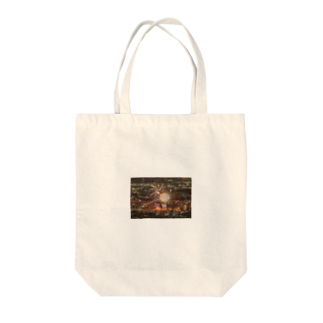 akauntの花火大会!!長良川~ Tote bags