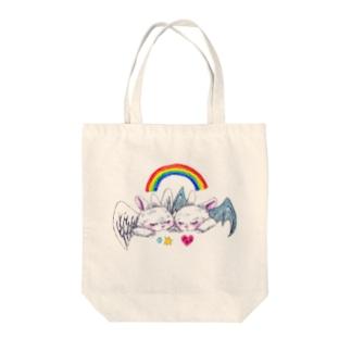 sweet bunnies Tote bags