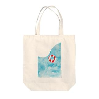 夏休み Tote bags
