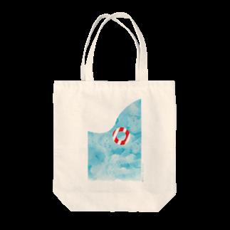 shirokumasaanの夏休み トートバッグ