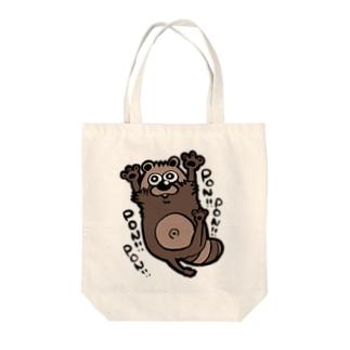 タヌギ Tote bags