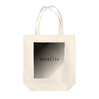 METALLIC Tote bags