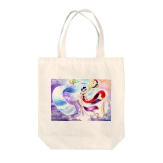 天空ノ巫女 Tote bags