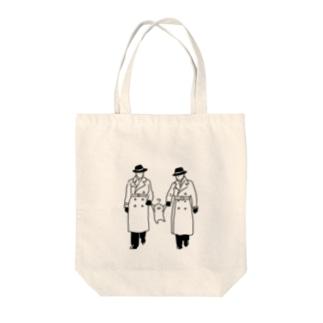 捕まったお文具 Tote bags