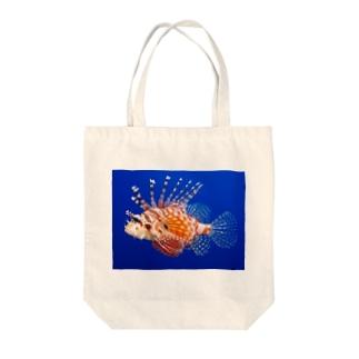 ミノカサゴ Tote bags