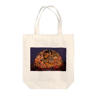 黒石ねぷた ⑴ Tote bags