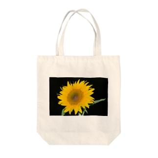 ひまわり Ⅱ Tote bags