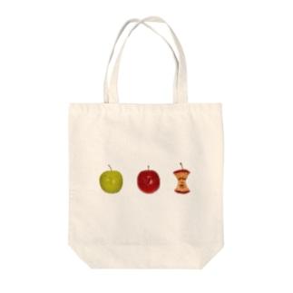 林檎の一生 Tote bags