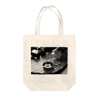 僕の相棒 Tote bags