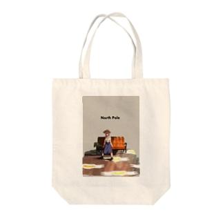 ノースポール Tote bags
