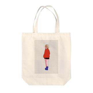 浮 Tote bags