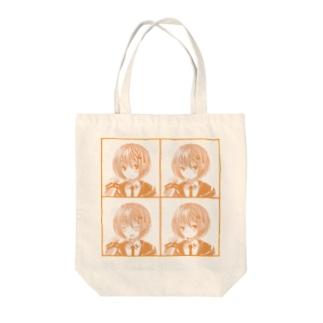 ぽわんちゃん Tote bags