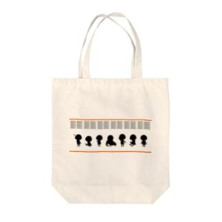 ぷちぽわんちゃん Tote bags