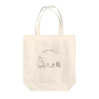 みなとみらい Tote bags