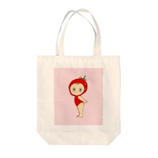 フラガリアアナナッサちゃん Tote bags